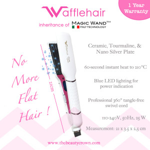 Wafflehair - Features- white
